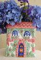 French Cottage Vase - A Ceramic Vase from Cottages and Gardens