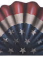 America Banner - A Patriotic Decoration & Display from Cottages and Gardens