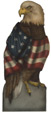 American Eagle - A Patriotic Decoration & Display from Cottages and Gardens