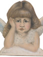 Cherub Bust  - A Valentine's Decoration & Display from Cottages and Gardens