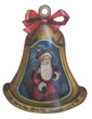 Santa Bell - A Christmas Decoration & Display from Cottages and Gardens
