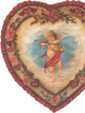 Cherub In Heart - A Valentine's Decoration & Display from Cottages and Gardens