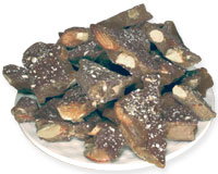 The CottageKeeper's Toffee - A Roasted Almond Chocolate Toffee From The Candy Shop at Cottages and Gardens