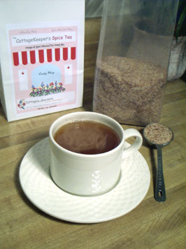 The CottageKeeper's Spice Tea - Orange & Spice Flavored Tea Mix from The Candy Shop at Cottages and Gardens
