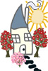 Cottages and Gardens - The Cottages and Gardens Cottage Logo