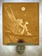 Catch A Falling Star - A Porcelain Garden Porcelain Lithophane Night Light From Cottages and Gardens