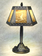 Nautical Five Panel Lamp - A  Porcelain Lithophane Table Lamp from The Porcelain Garden