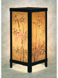 Bamboo Luminaire - A Porcelain Lithophane from The Porcelain Garden