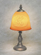 Guardian Angel Porcelain Lithophane Petite Lamp